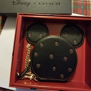 Disney X Coach Minnie Coin Purse